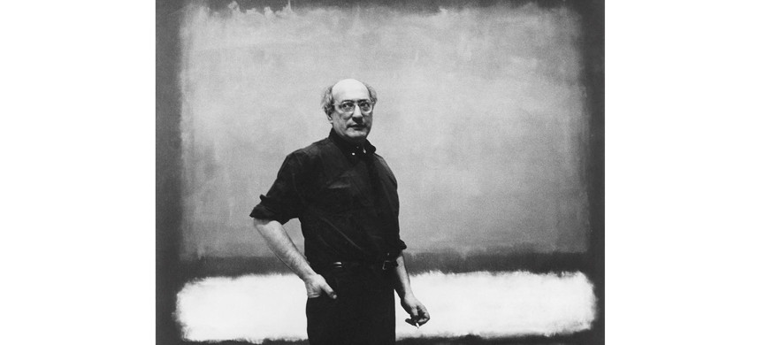 Unknown, Mark Rothko with No. 7, 1960, Reproduced courtesy of the Estate of Mark Rothko