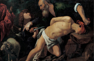 <p>The Sacrifice of Isaac, c. 1615. Found in the collection of the Museo de Bellas Artes de Bilbao. (Photo by Fine Art Images/Heritage Images/Getty Images)</p>