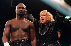 <p>18 NOV 1994: JACKIE KALLEN, MANAGER OF JAMES TONEY, BEFORE TONEY'S FIGHT WITH ROY JONES JR AT THE MGM GRAND HOTEL IN LAS VEGAS, NEVADA. Mandatory Credit: Holly Stein/ALLSPORT</p>