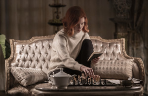 <p>THE QUEEN�S GAMBIT (L to R) ANYA TAYLOR-JOY as BETH HARMON in episode 106 of THE QUEEN�S GAMBIT Cr. PHIL BRAY/NETFLIX � 2020</p>