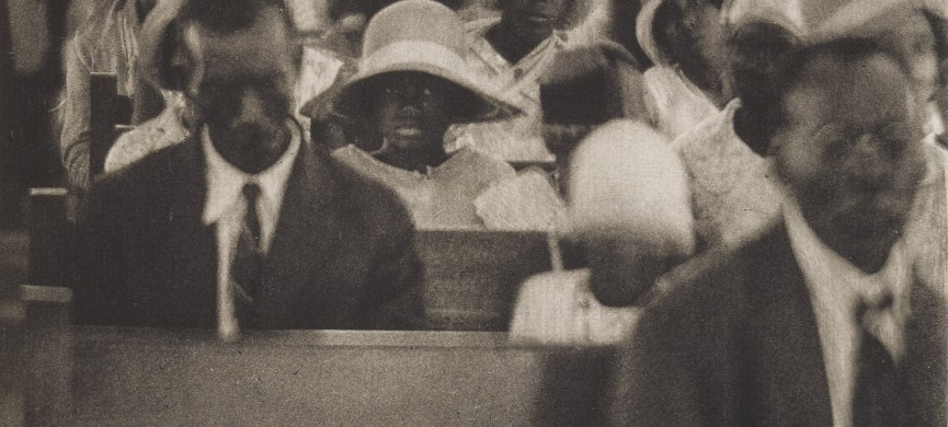 "<p>Doris Ulmann (1884-1934); [People seated at church service] [from ""Roll, Jordan, Roll""]l; 1933; Photogravure; Amon Carter Museum of American Art, Fort Worth, Texas; P2009.8.26</p>"